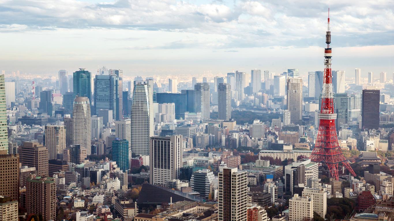 Die Hauptstadt Tokio