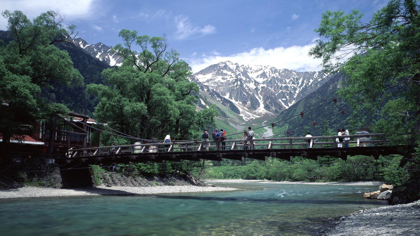 Traum für Wanderer – die japanischen Alpen