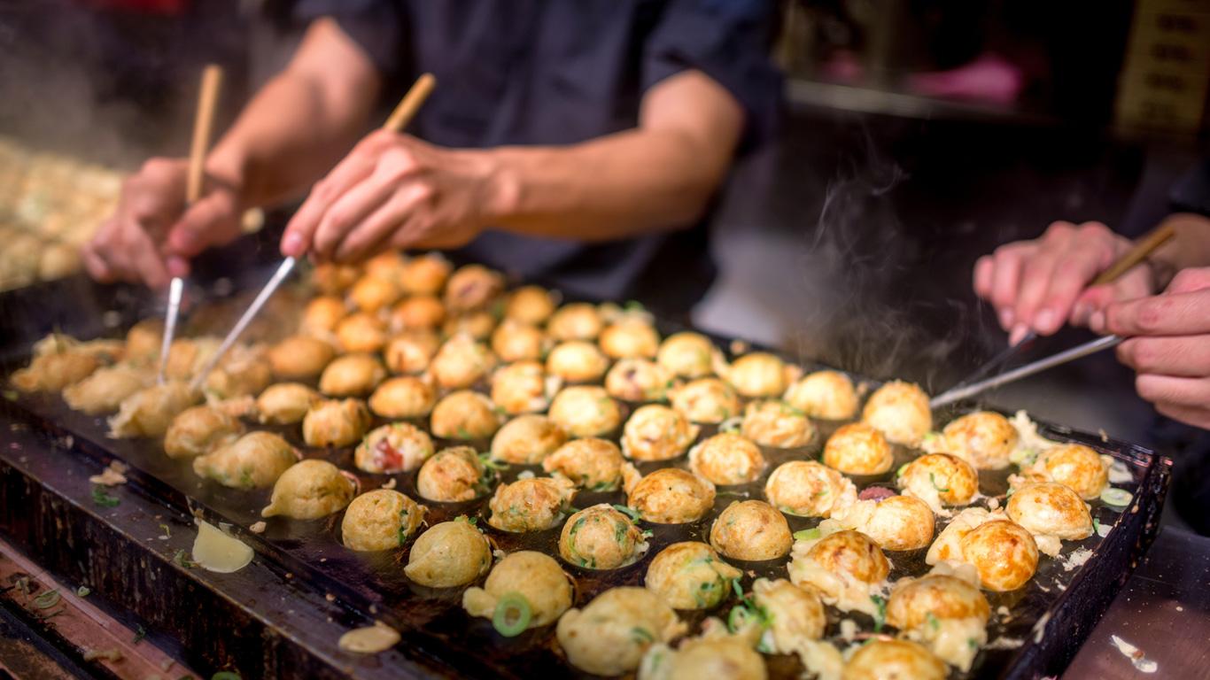 Die kleine Küche Japans
