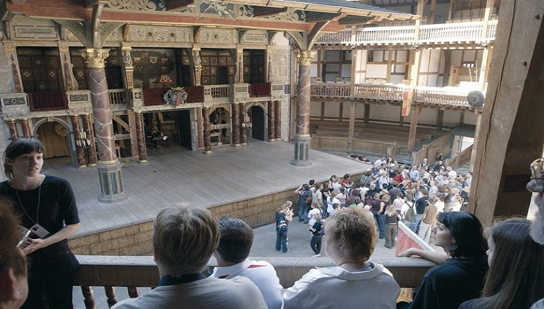 Shakespeare hautnah in London