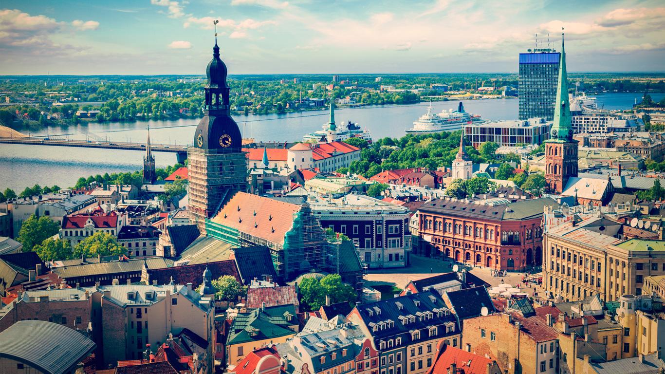 Riga, Lettland – Kulturhauptstadt 2014