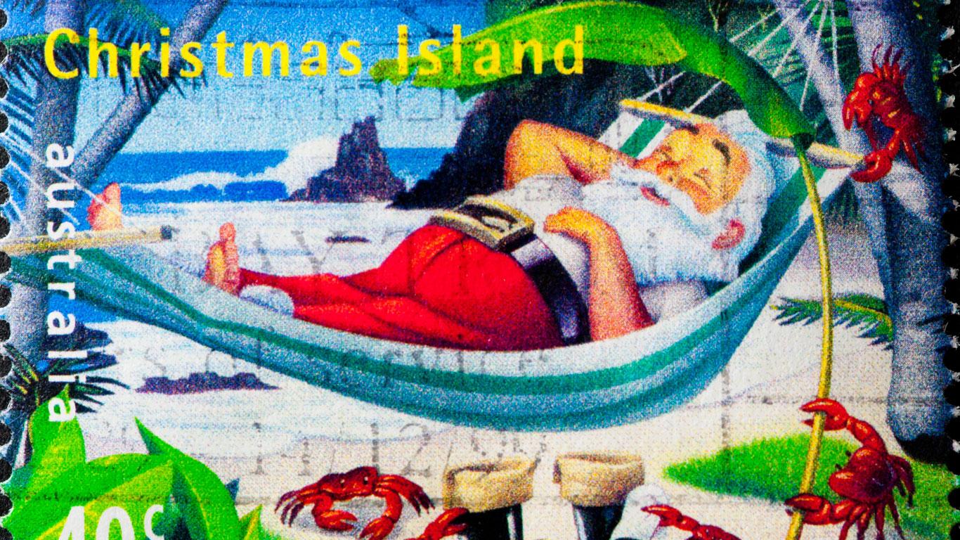 Wie geht es an Weihnachten auf der gleichnamigen Insel zu?