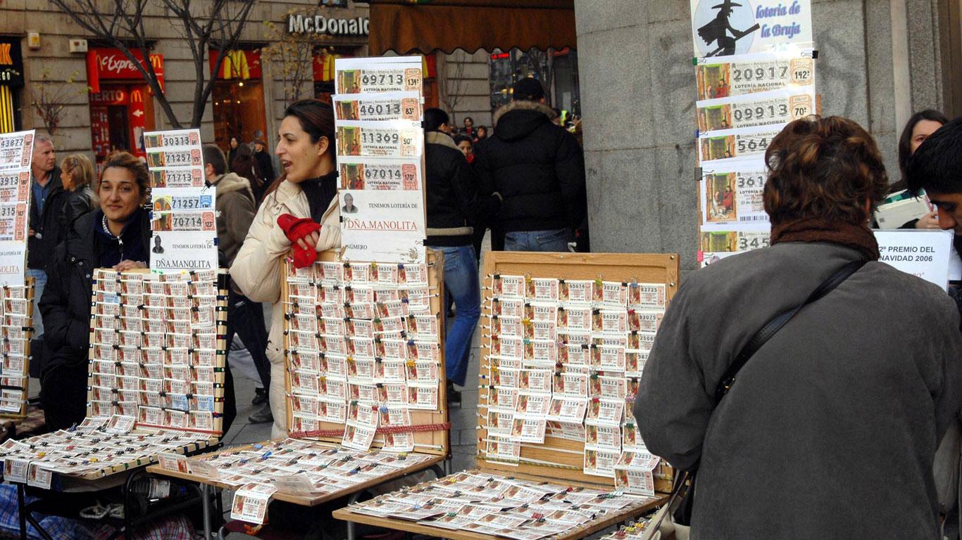 In Spanien läutet die Weihnachtslotterie das Fest ein