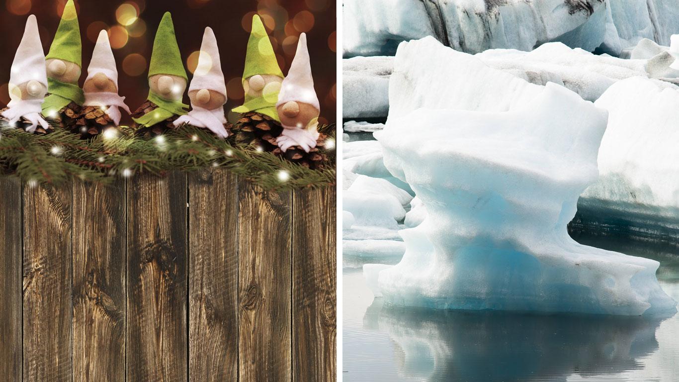 Besuch von den Weihnachtszwergen in Island