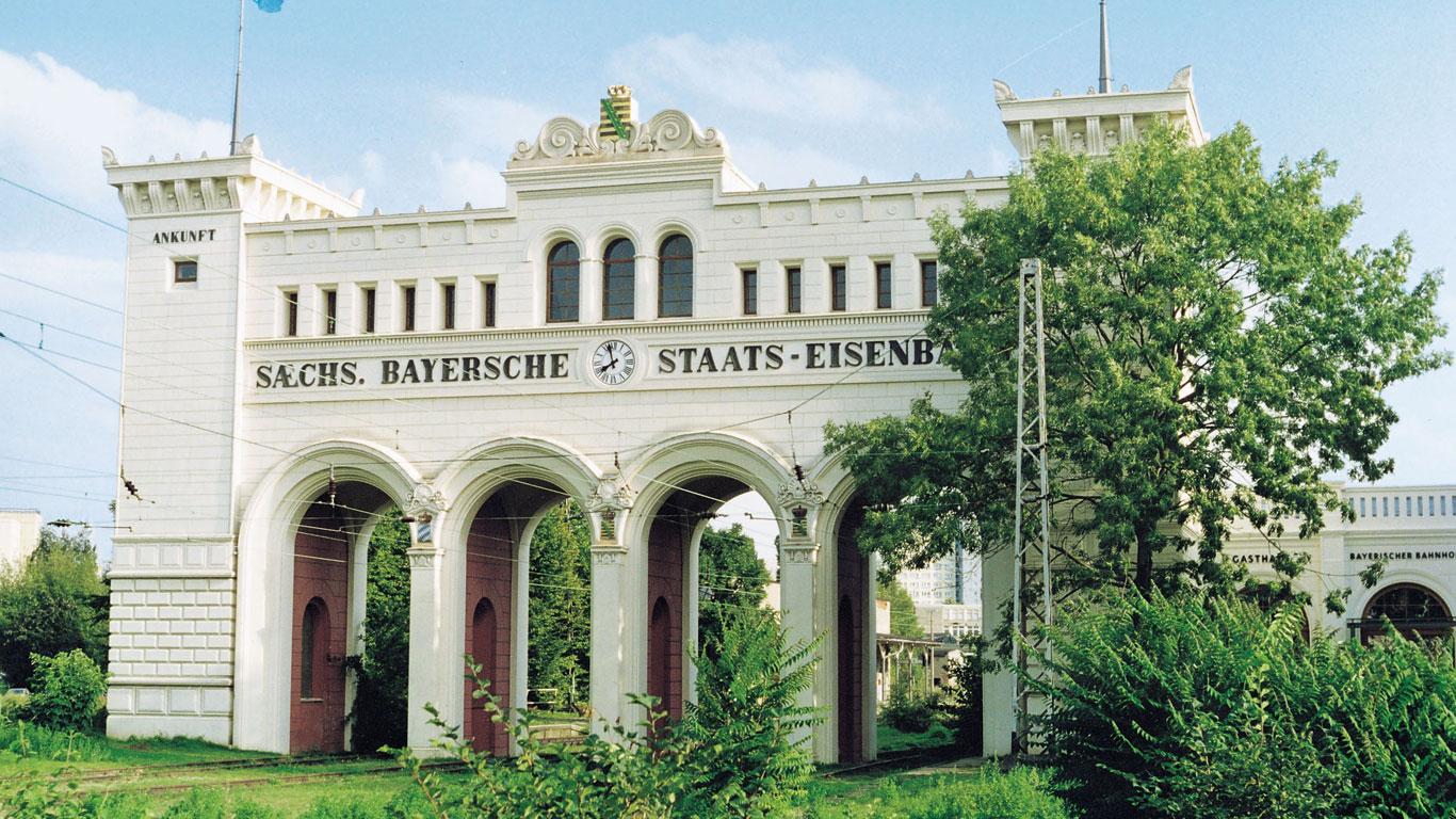 In Leipzig steht der älteste Kopfbahnhof der Welt