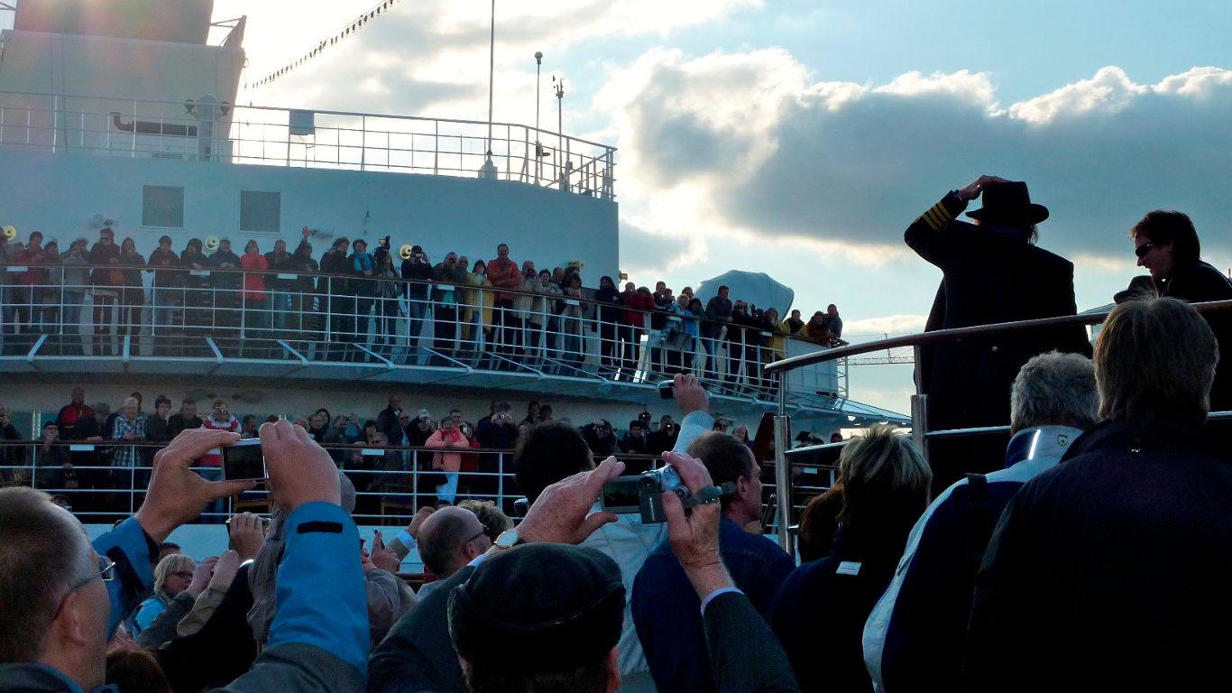 Mit Udo Lindenberg zum Hafengeburtstag
