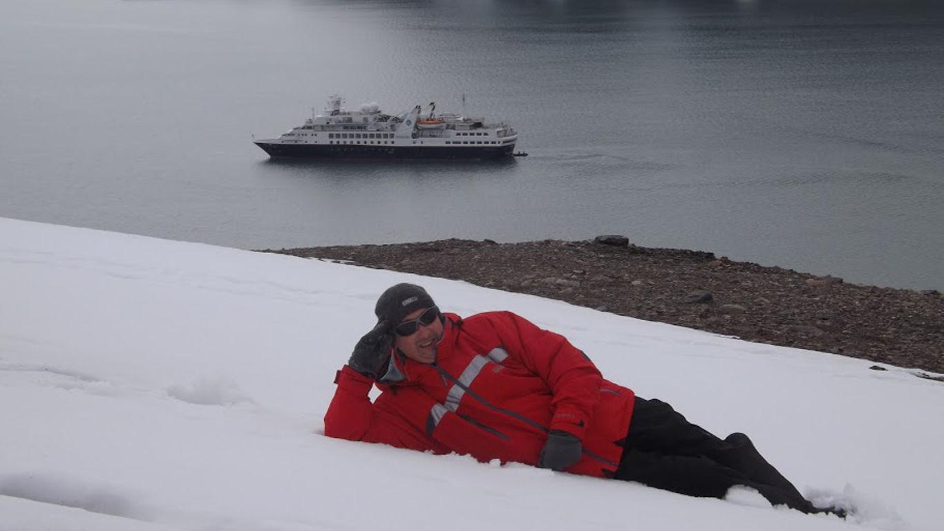 Eisbären und Walrosse in der Arktis