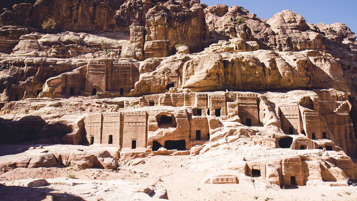 Die Felsenstadt Petra