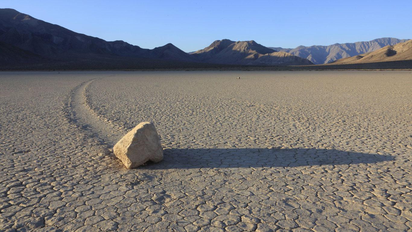 Das Geheimnis der wandernden Steine