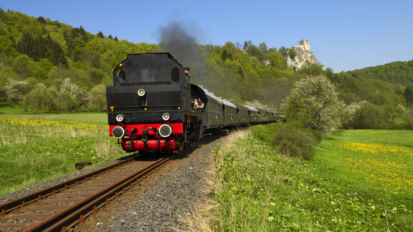 Die Dampfbahn-Schatzkarte
