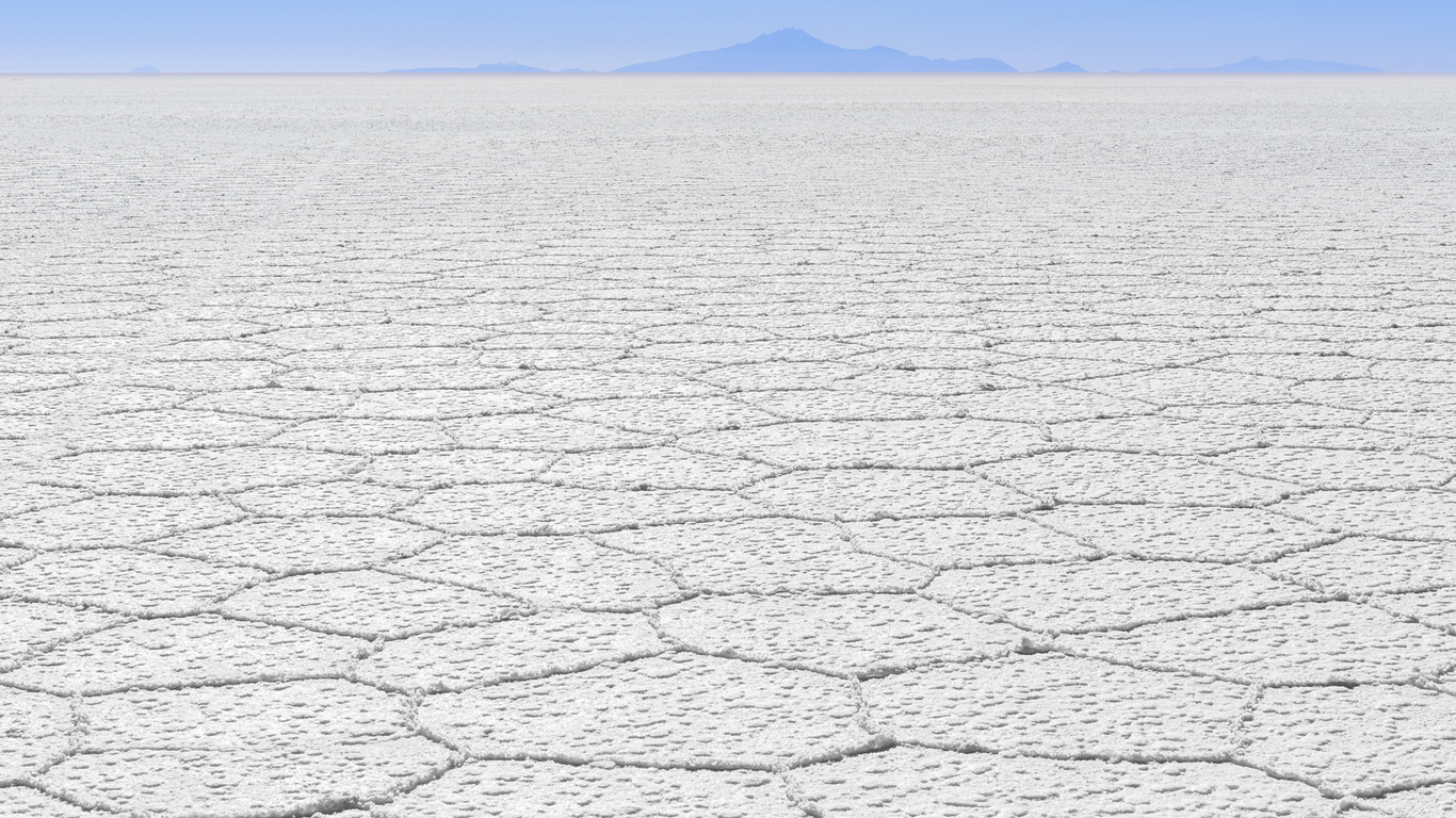 Salar de Uyuni (Bolivien)