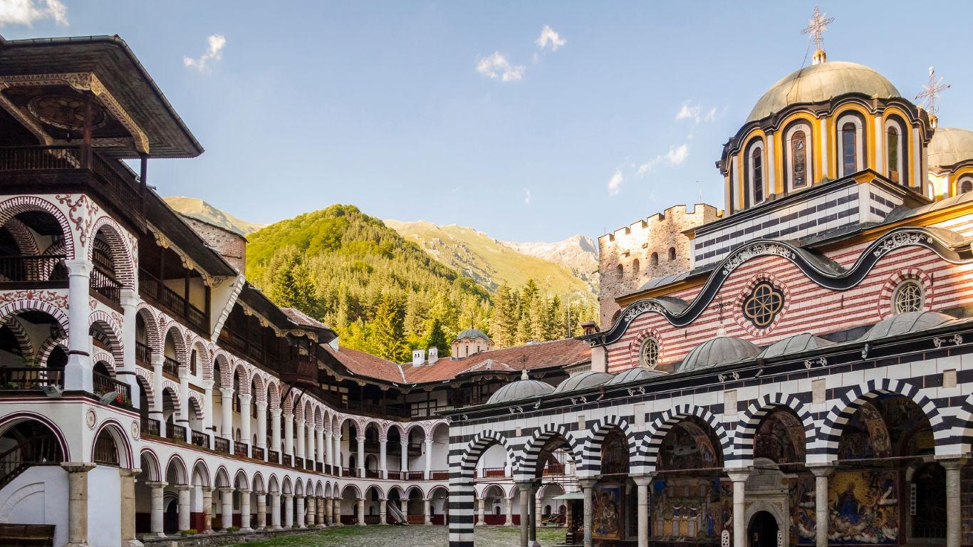 Das Rila-Kloster in Bulgarien