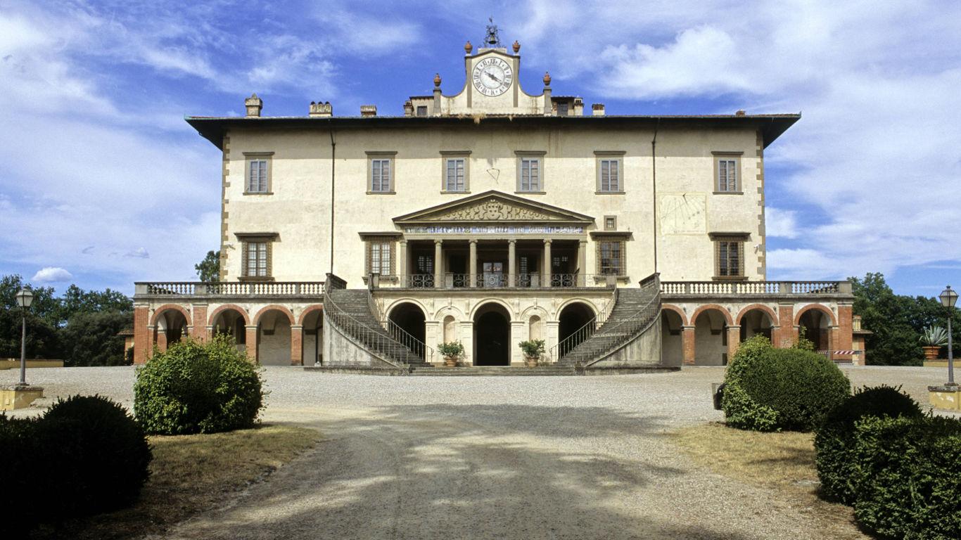 Die Medici-Villen in Italien