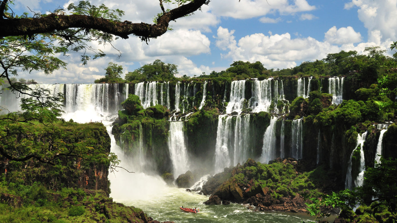 Der Iguazú-Nationalpark in Argentinien