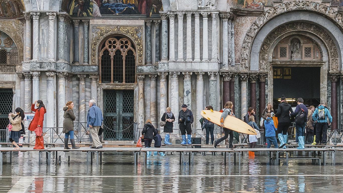 Klimawandel und Hochwasserschutz