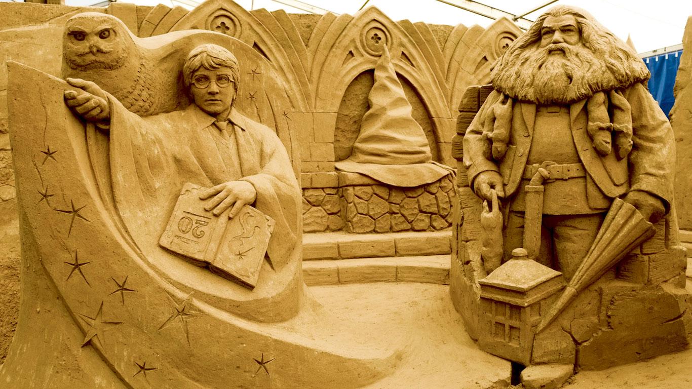 Magie aus Sand