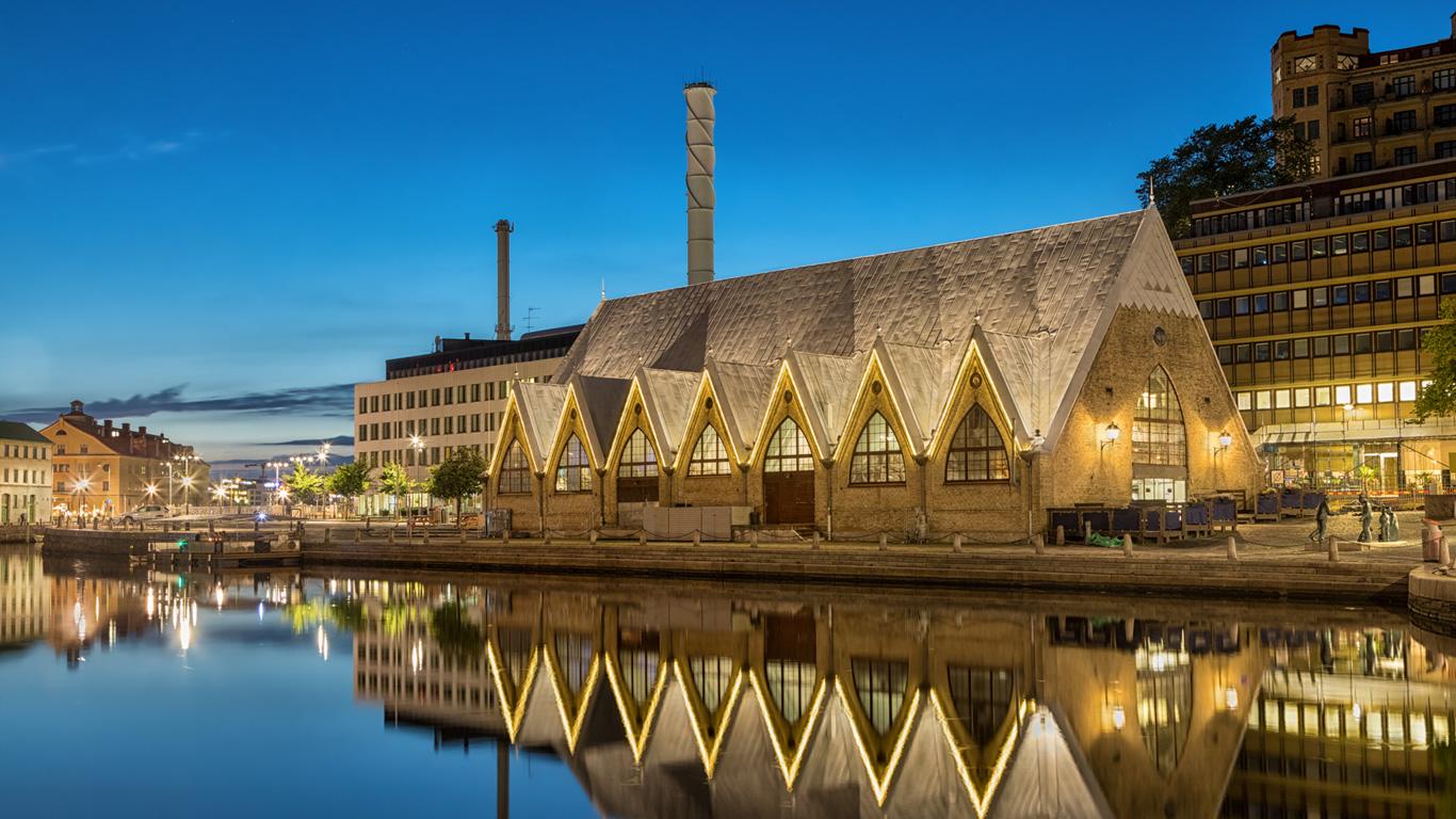 Die Hafenstadt Göteborg