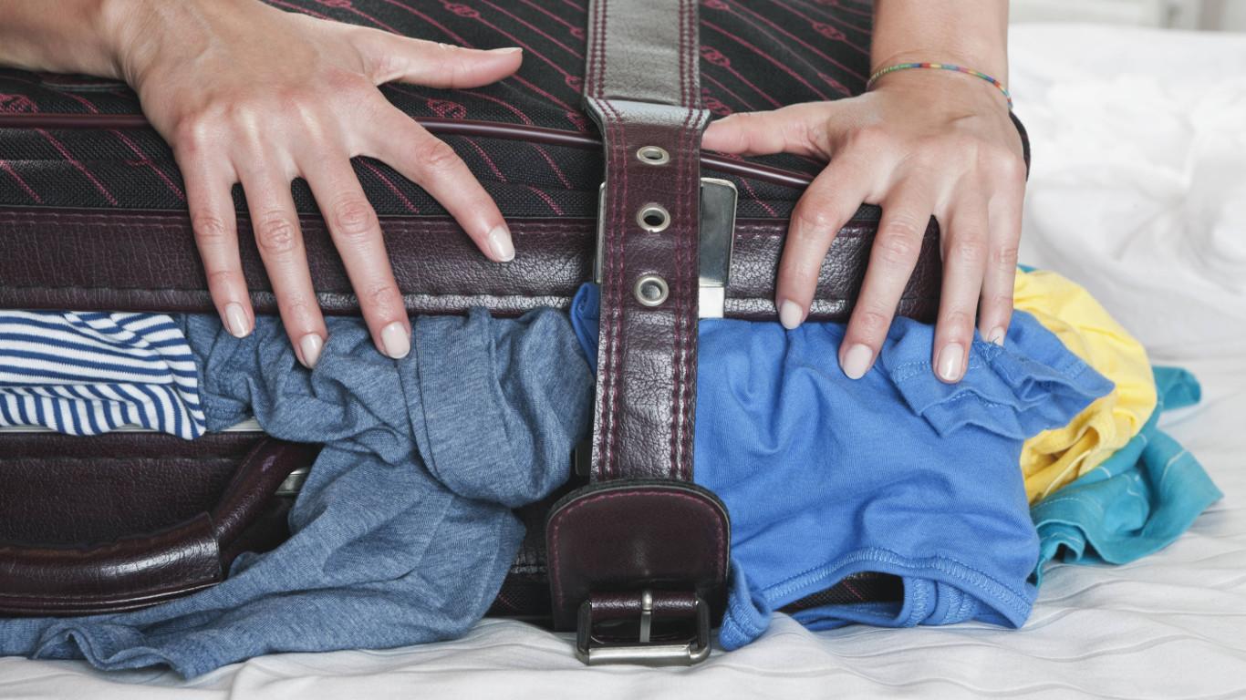 Übergewicht im Handgepäck …
