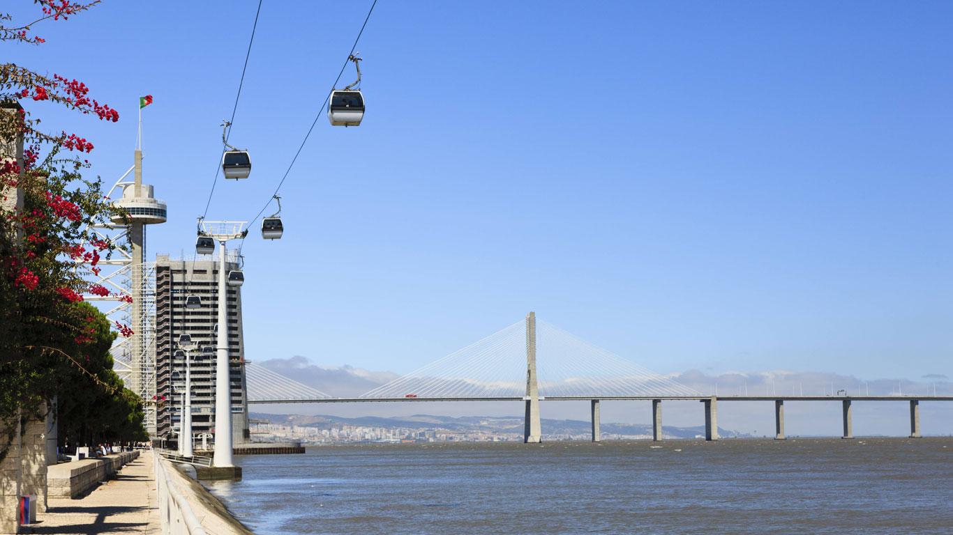 Mit der Seilbahn durch Lissabon