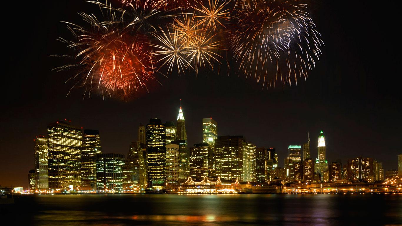 Wo sieht man das Feuerwerk am besten?