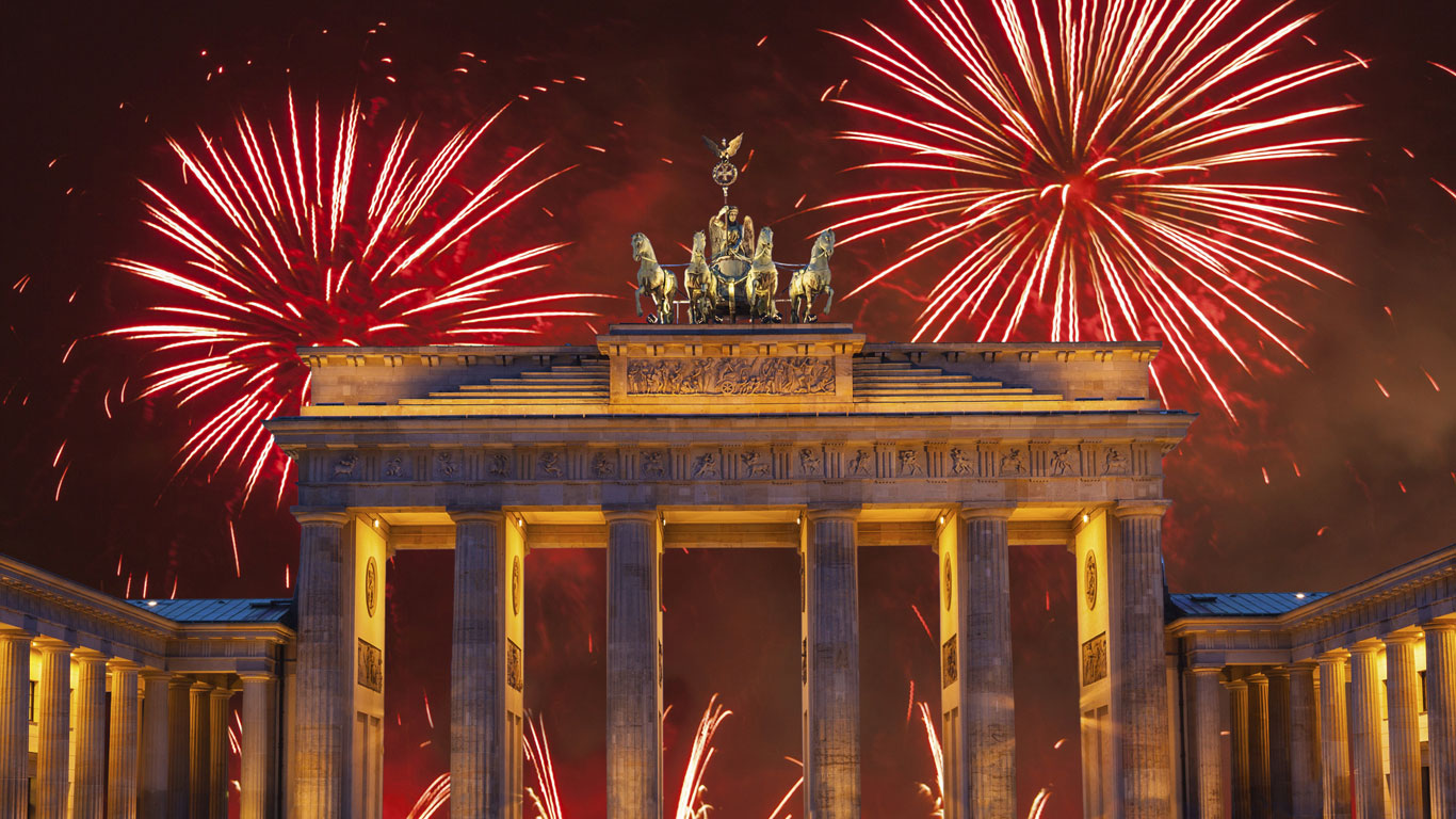 Berlin: Livemusik, Livefeuerwerk, Live-Lasershow