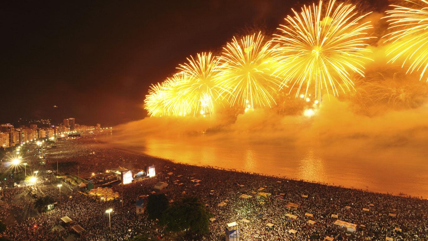 Rio de Janeiro: Samba am Strand