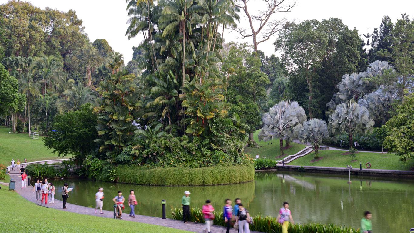 Neues UNESCO-Welterbe: Der Botanische Garten