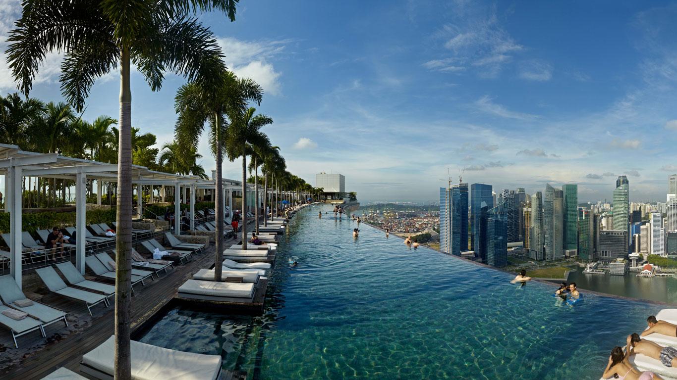 Die Ikone der Stadt: Das Marina Bay Sands