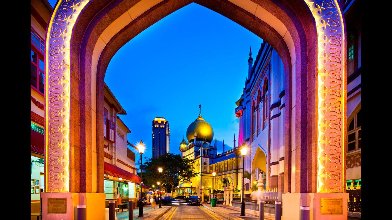 Orient in Asien: Kampong Glam in der Arab Street
