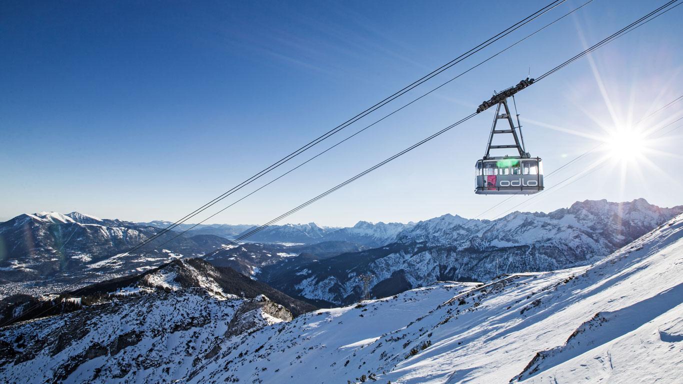 Skitouren rund um das Skigebiet Garmisch-Classic