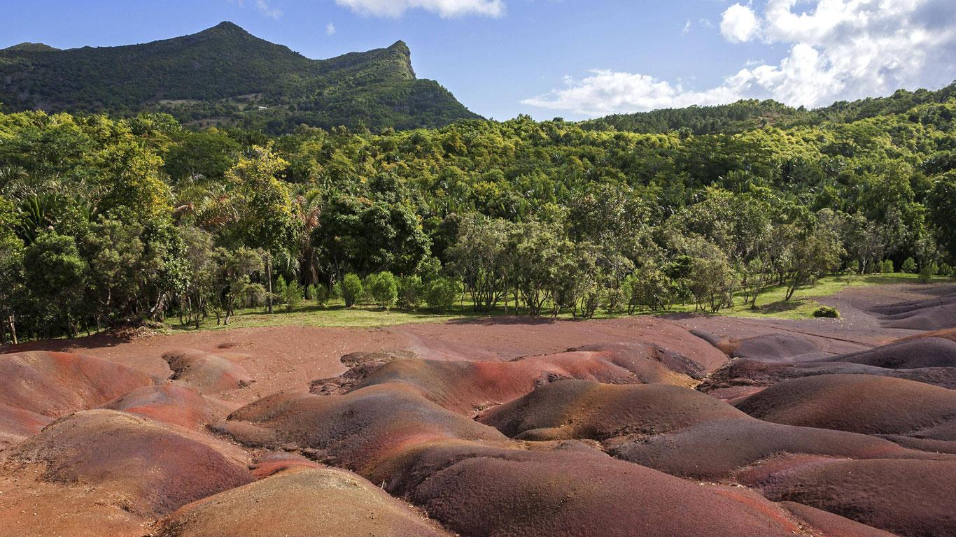 Anmutiges Naturwunder dank tropischem Klima