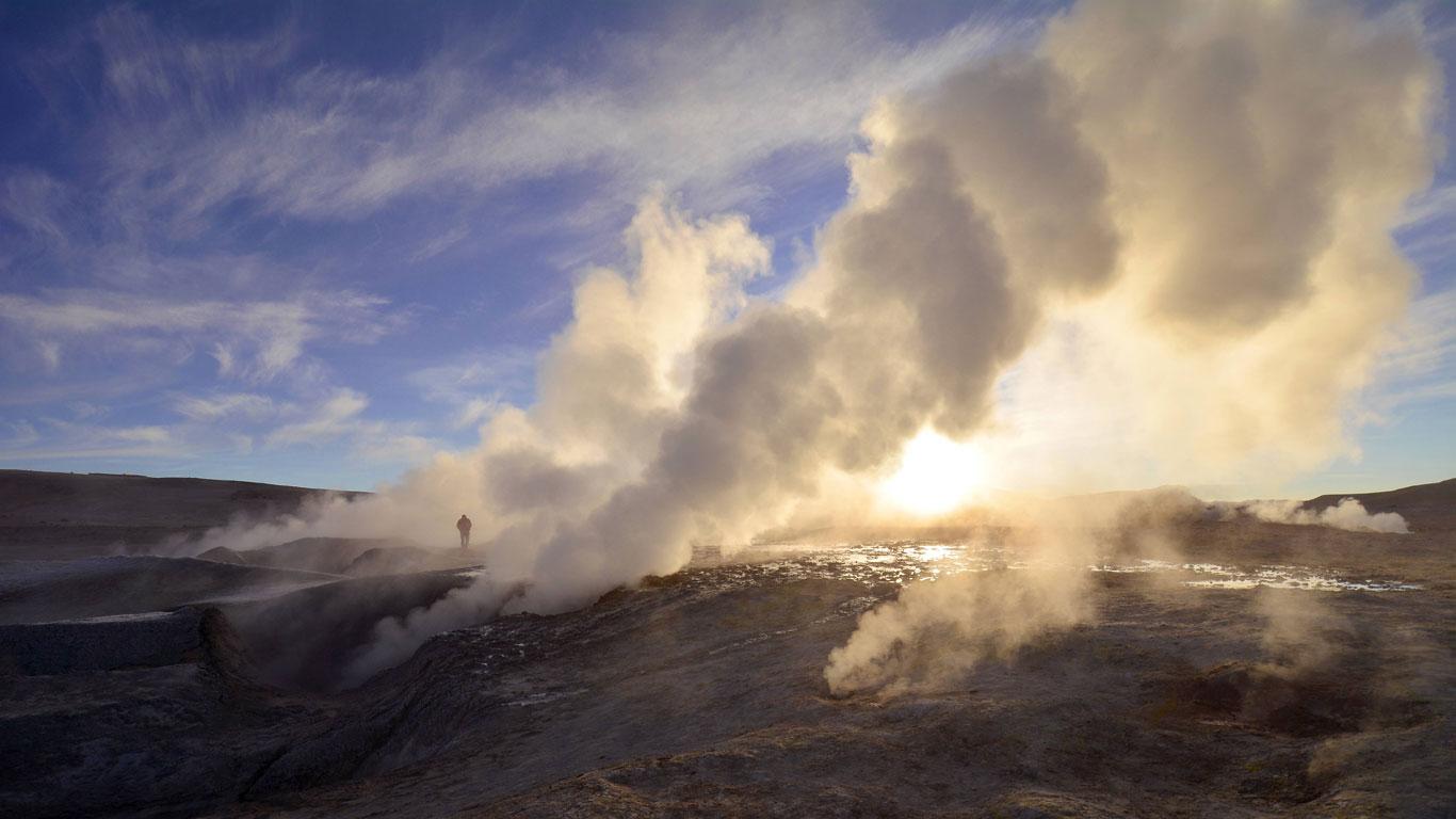 Hexenkessel in Bolivien