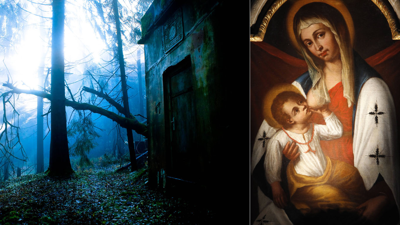Die geheimnisvolle Kapelle im Wald