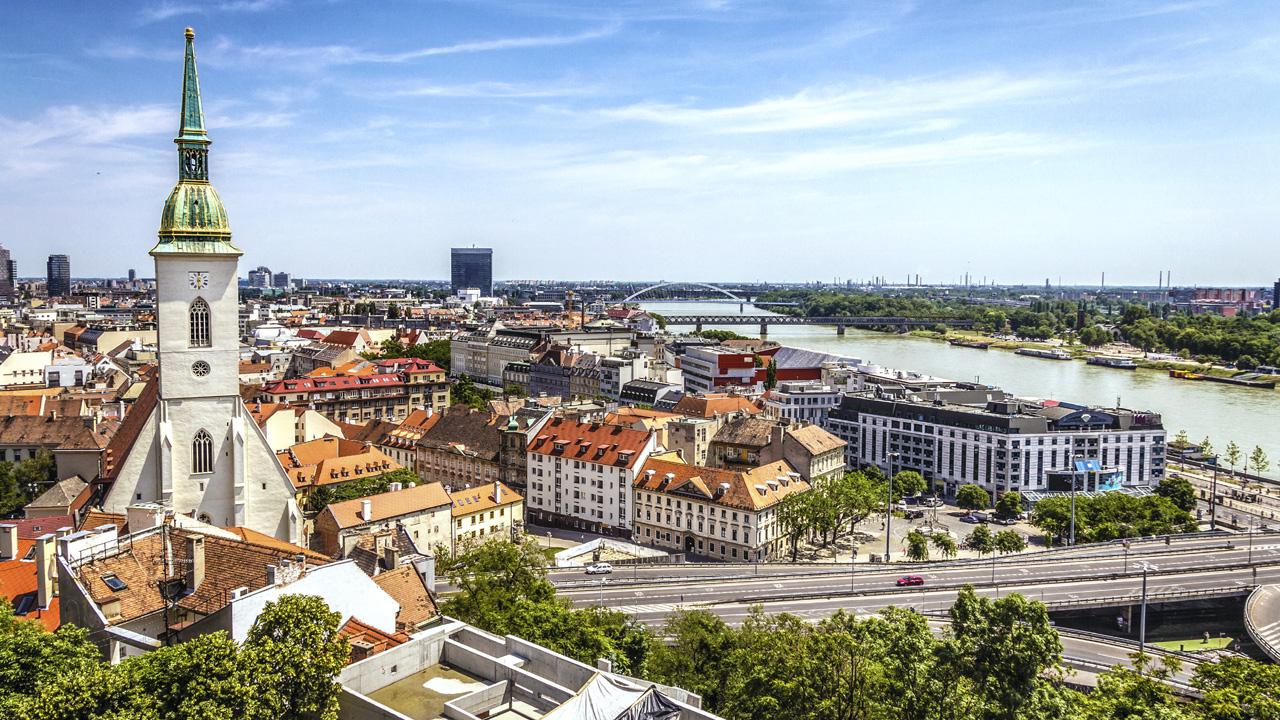 Guter Mix: Bratislava
