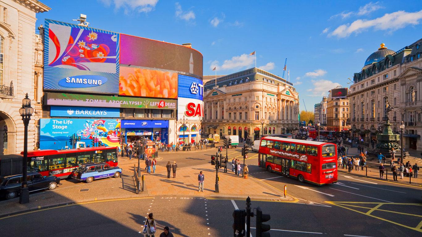 Very british und very beliebt – London