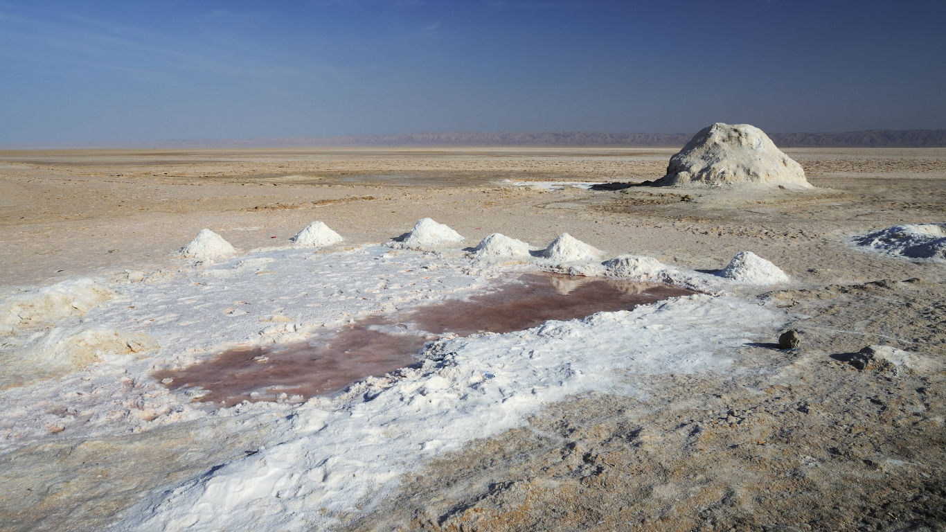 Platz 4: Chott el Djerid, Tunesien