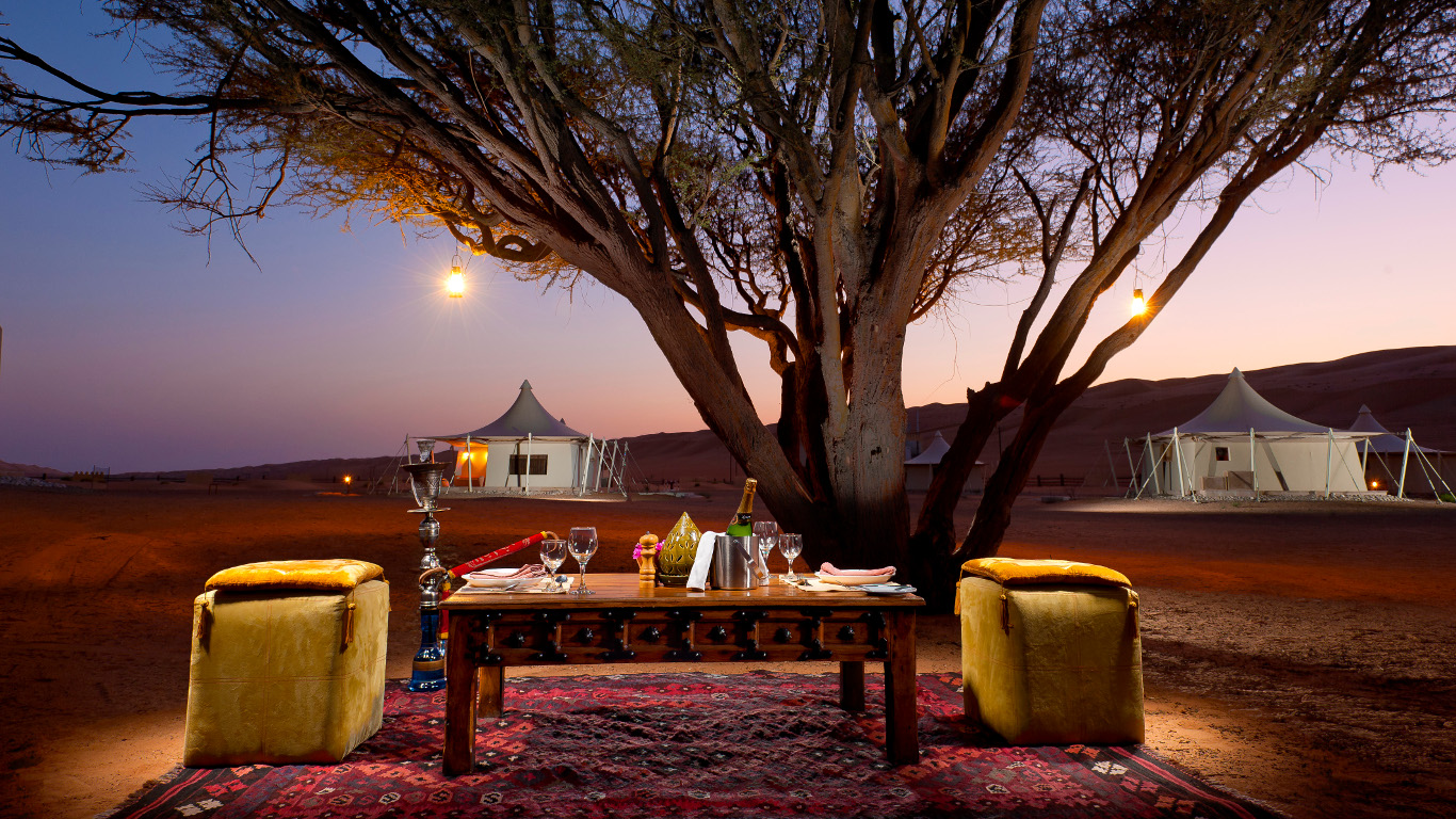 Sternenregen über der Wüste – Oman
