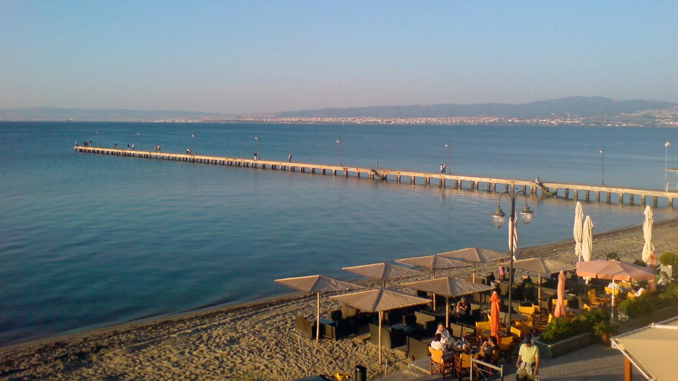 Thessaloniki – vom Flugzeug direkt ans Wasser