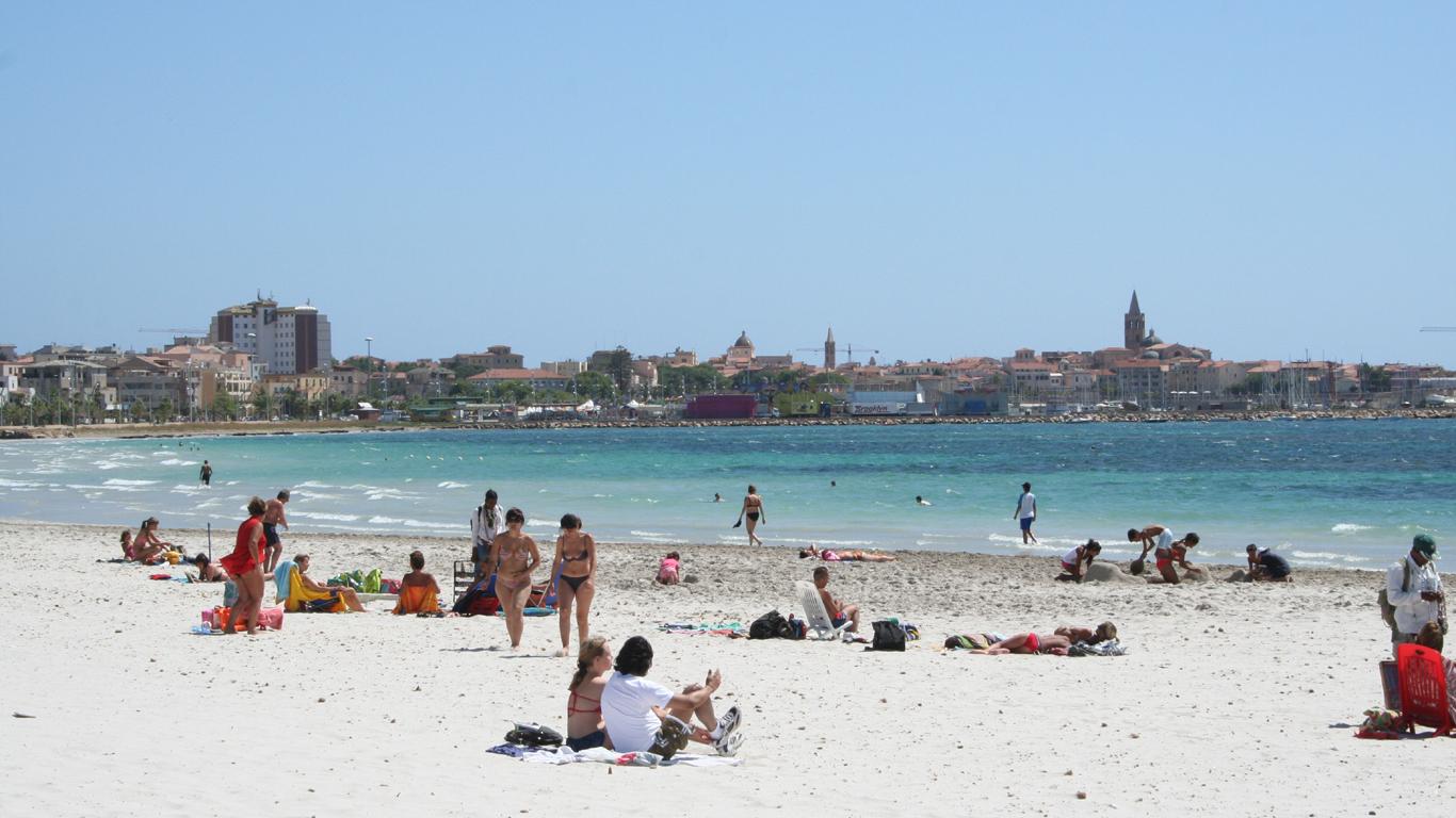 Alghero – In zehn Minuten vom Flieger an den Beach
