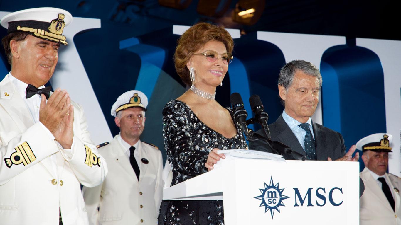 Eine Diva für das Schiff – Sophia Loren: