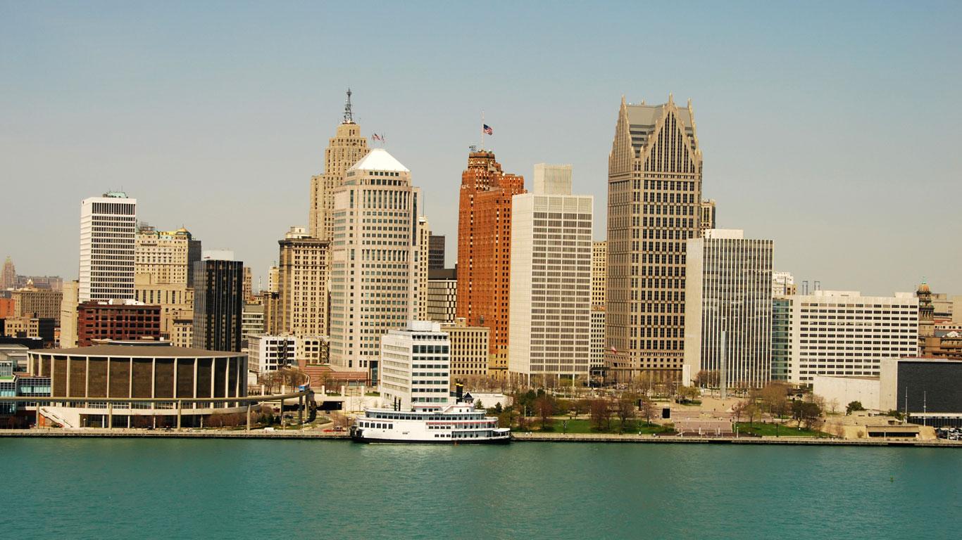 Detroit – Aufstieg, Fall und Wiedergeburt der Auto-Stadt