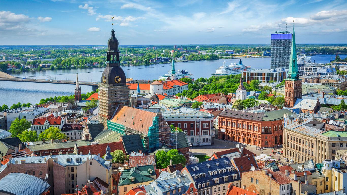 Die Unabhängigkeit in Riga feiern