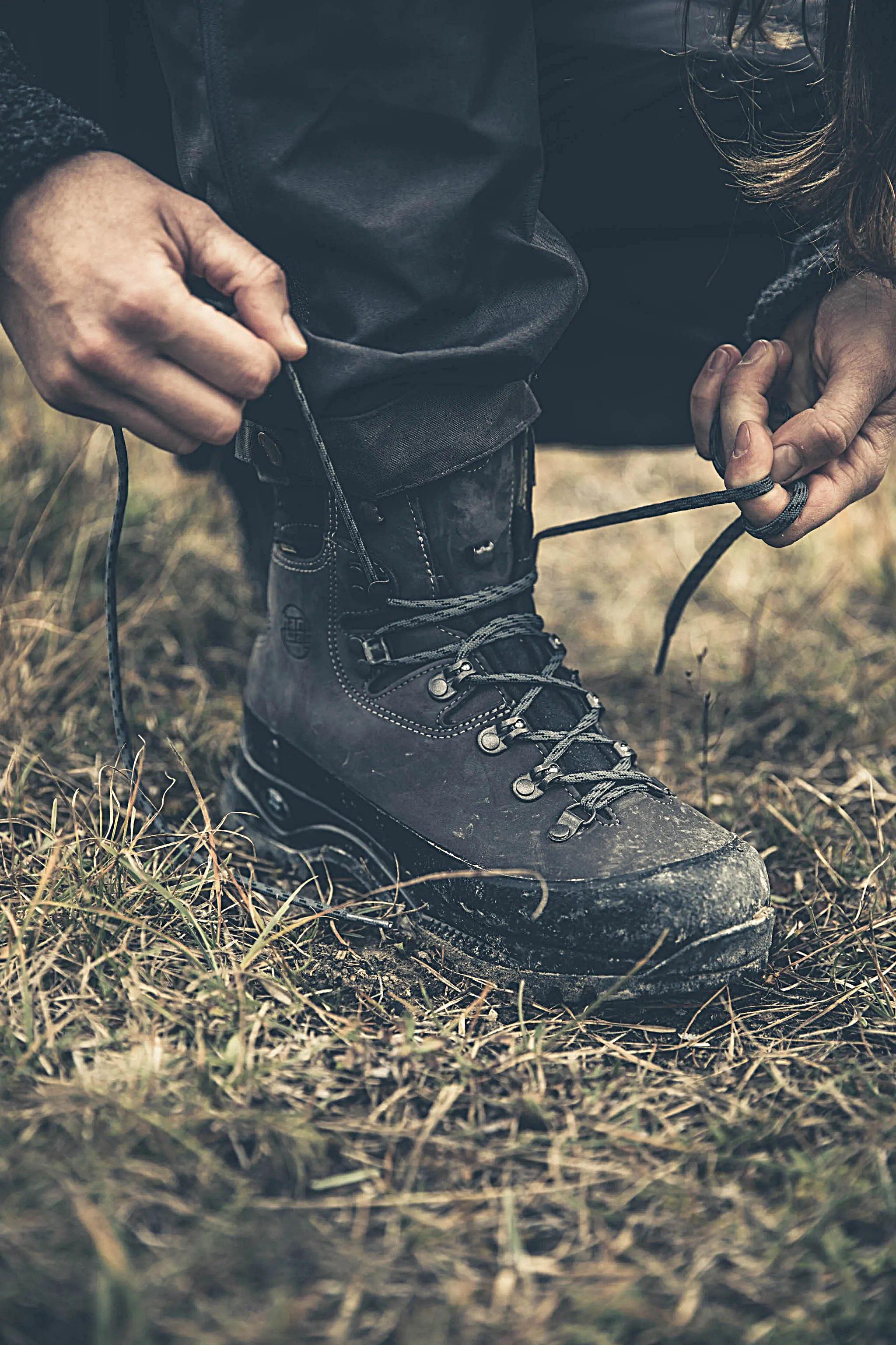 Tipp 4: Socken und Schnürung