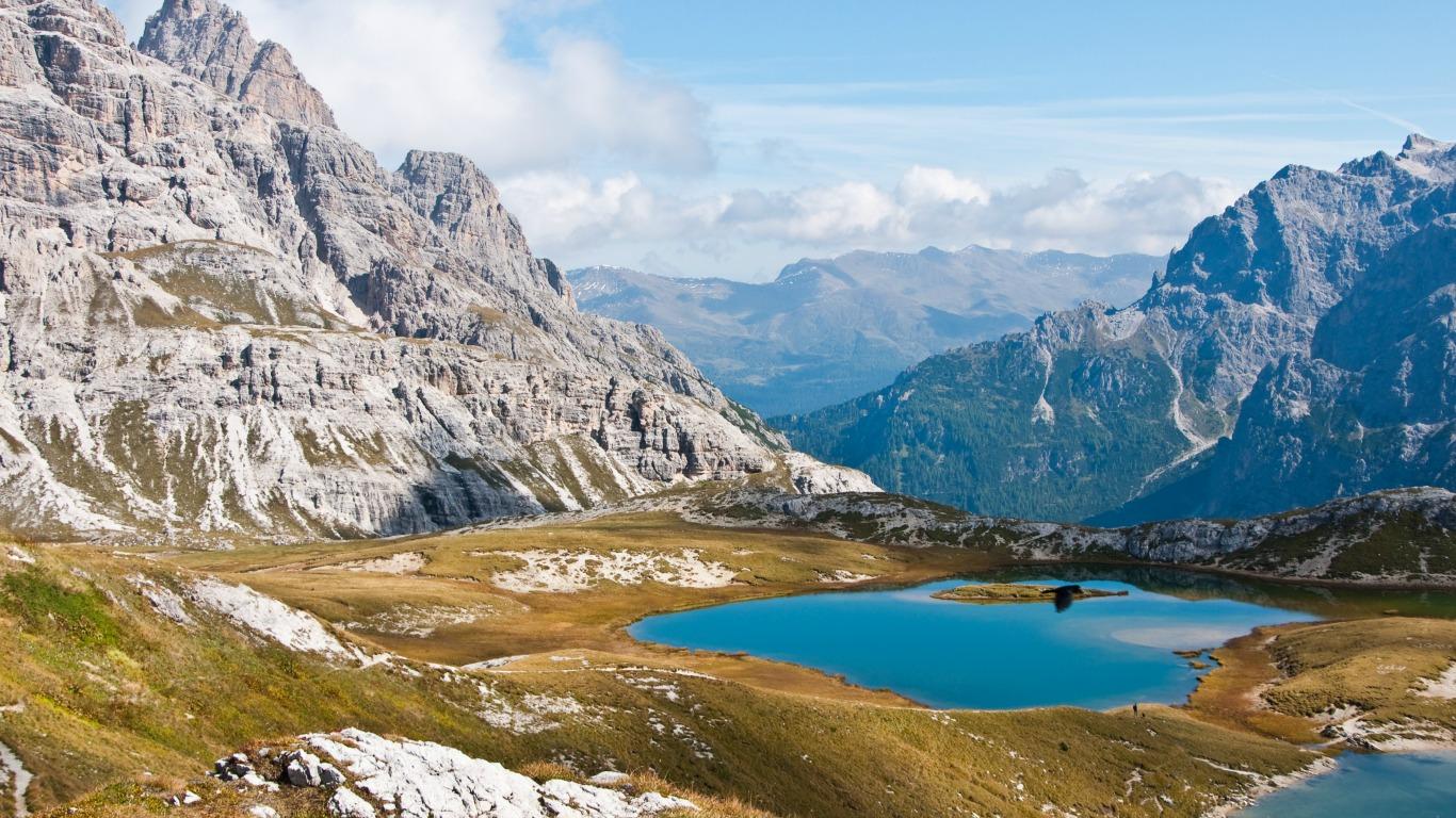 Wanderparadies Sextener Dolomiten