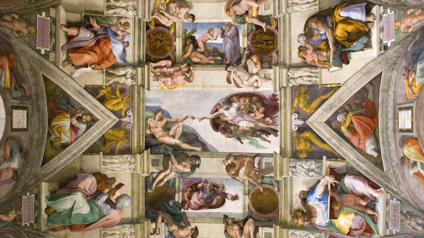 Rom: Sixtinische Kapelle