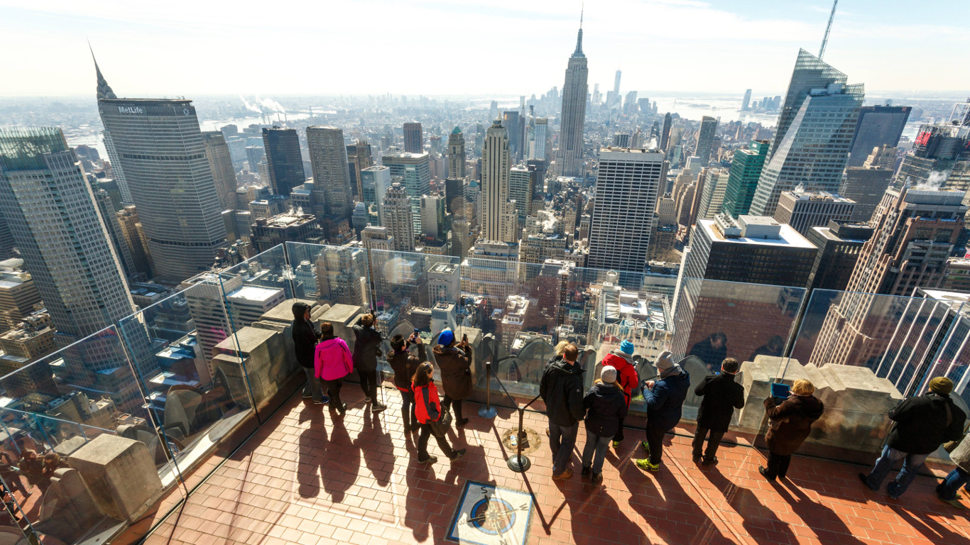 New York City: The Top of the Rock