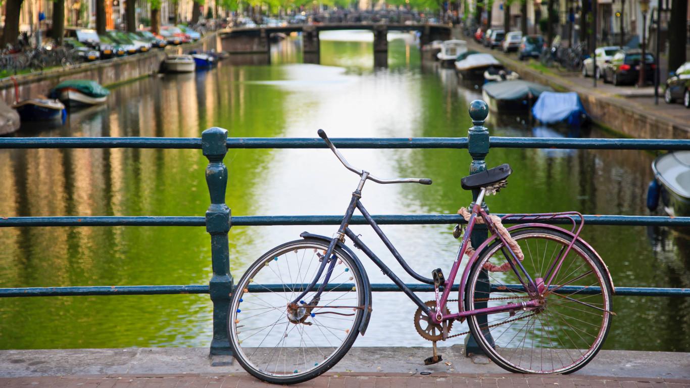 Fünf Stunden mehr Zeit in Amsterdam