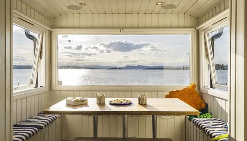 Fjord vor der Haustür