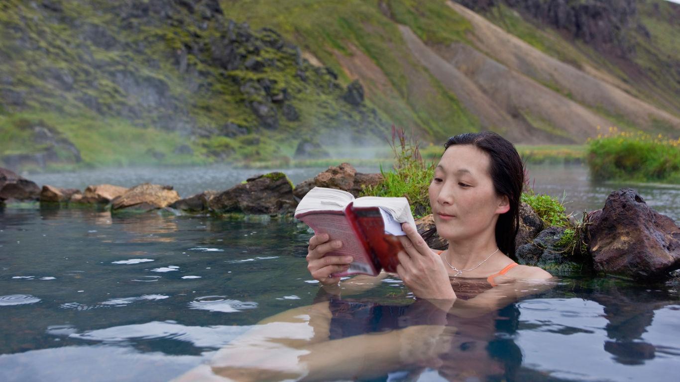 Islands heiße Quellen