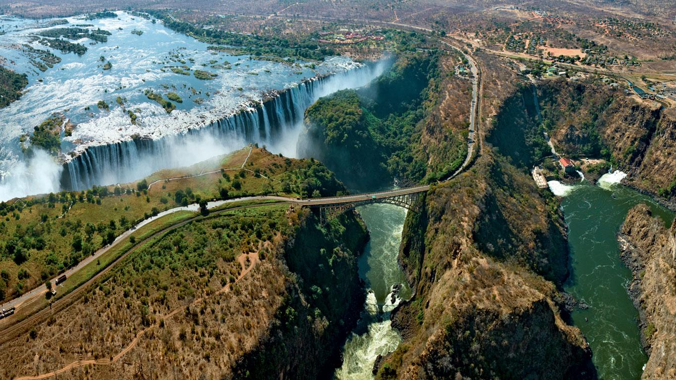 Victoriafälle, Sambia / Simbabwe